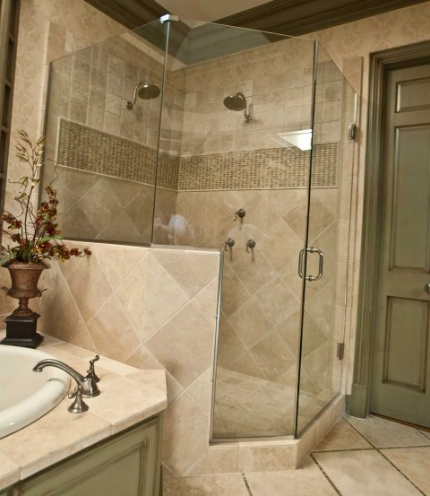 Planning A Bathroom Remodel Consider The Layout First: Cabine De Dus Din Sticla Securizata